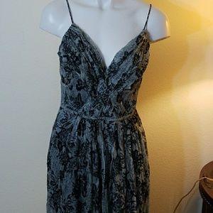 Hilton weiner maxi dress size 32